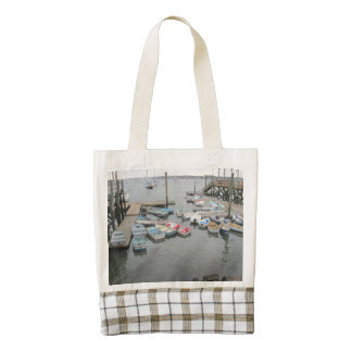 Harbor Dinghies Kittery Point Zazzle HEART Tote Bag