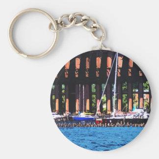 Harbor Docks Keychain
