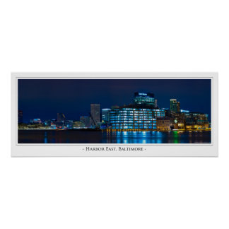 Harbor East, Baltimore Poster