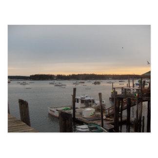 Harbor (Friendship, Maine) Postcard