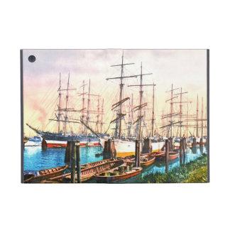 Harbor Hamburg Germany 1890 iPad Mini Case
