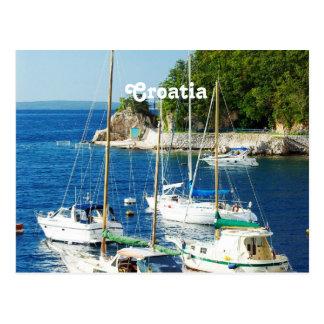 Harbor in Croatia Postcard