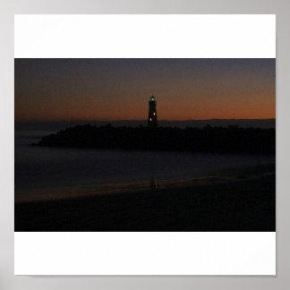 Harbor Light House Poster
