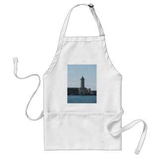 Harbor lighthouse adult apron