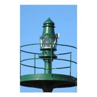 Harbor lighthouse stationery