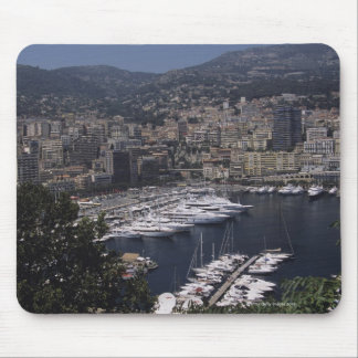 Harbor, Monte Carlo, French Rivier, Cote d' Mouse Pad
