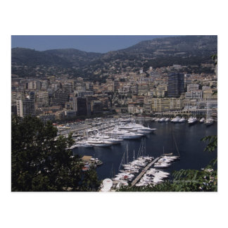 Harbor, Monte Carlo, French Rivier, Cote d' Postcard