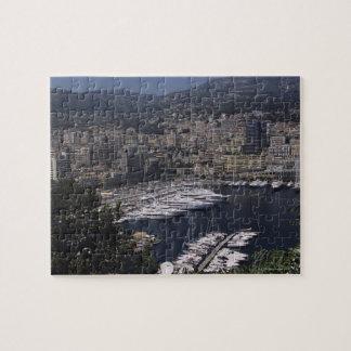 Harbor, Monte Carlo, French Rivier, Cote d' Puzzle
