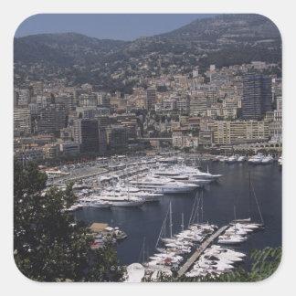 Harbor, Monte Carlo, French Rivier, Cote d' Sticker