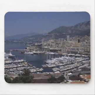 Harbor, Monte Carlo, French Riviera, Cote d' 3 Mouse Pad