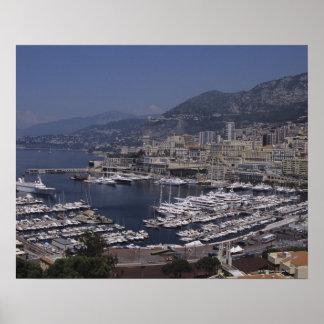 Harbor, Monte Carlo, French Riviera, Cote d' 3 Poster