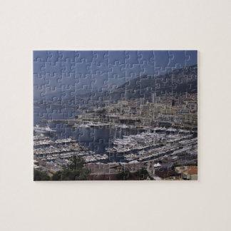 Harbor, Monte Carlo, French Riviera, Cote d' 3 Puzzle