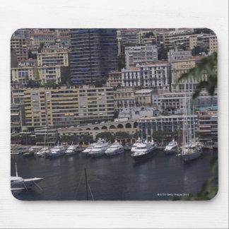 Harbor, Monte Carlo, French Riviera, Cote d' Mouse Pad