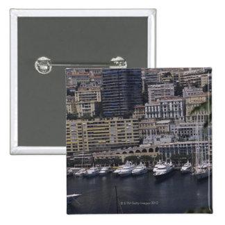 Harbor, Monte Carlo, French Riviera, Cote d' Pinback Button