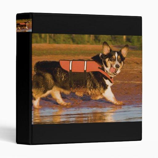 Harbor Patrol Vinyl Binder