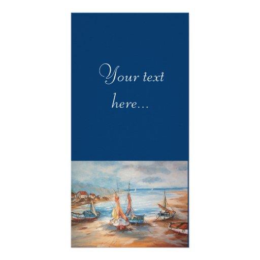Harbor Customized Photo Card