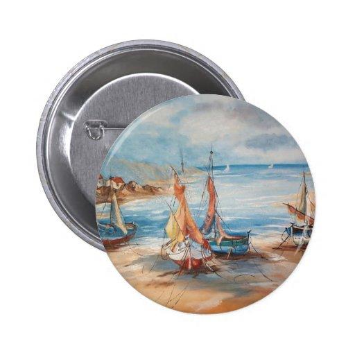 Harbor Pinback Button