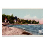 Harbor Point, Michigan beach Posters