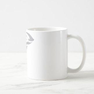 Harbor Porpoise in Swish Drawing Style Coffee Mug