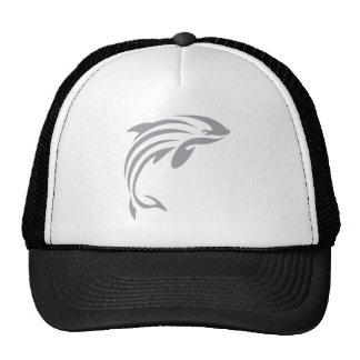 Harbor Porpoise in Swish Drawing Style Trucker Hat
