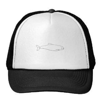 Harbor Porpoise (line art illustration) Trucker Hat