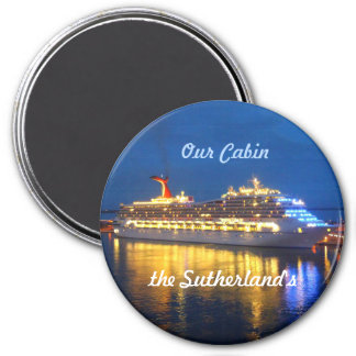 Harbor Reflections Personalized Magnet