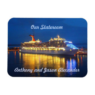 Harbor Reflections sml. Stateroom Door Marker Magnet