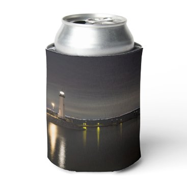 Harbor Rockwall Lighthouse Can Cooler