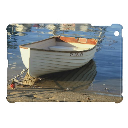 Harbor Row Boat Photography -iPad  mini case iPad Mini Case