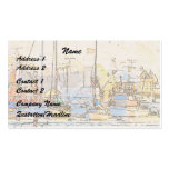 Harbor/Sailboats Business Card