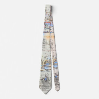 Harbor Sailboats Pelican Bird Ocean Marina Tie