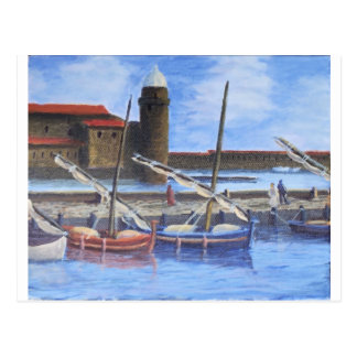 Harbor Scene Postcard