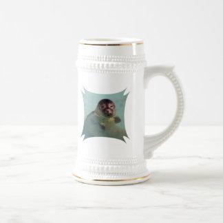 Harbor Seal Beer Stein Coffee Mugs