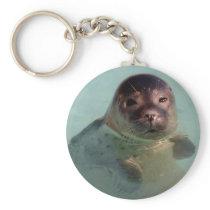 Harbor Seal Keychain