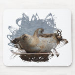 Harbor seal mouse pads