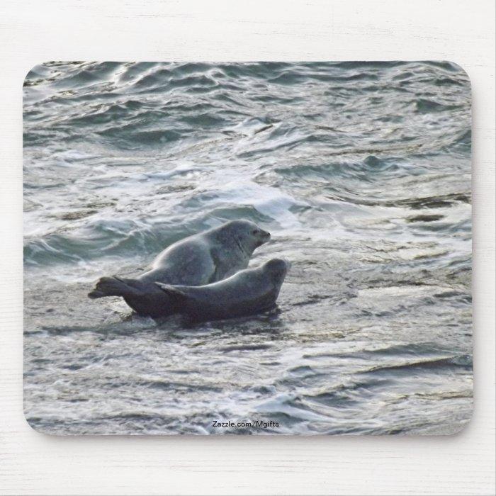 Harbor Seals Mouse Pad