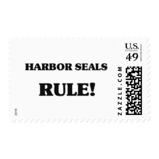 Harbor Seals Rule Stamps