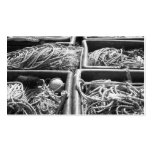 Harbor Side Boxes of Ropes. Double-Sided Standard Business Cards (Pack Of 100)