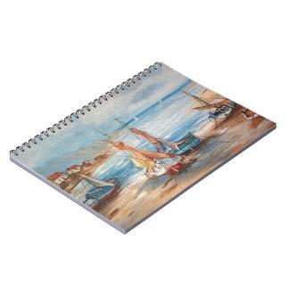 Harbor Spiral Note Book