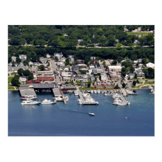 Harbor Springs, Michigan city marina Postcard