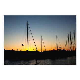 Harbor Sunset 2 Photo Art