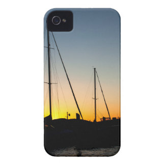 Harbor Sunset iPhone 4 Covers