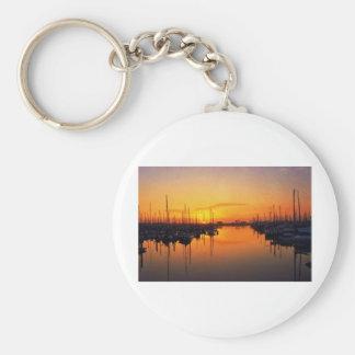 Harbor Sunset Keychains