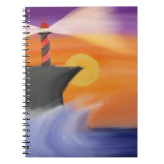 Harbor Sunset Notebook