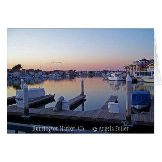 Harbor Sunset Notecards Card