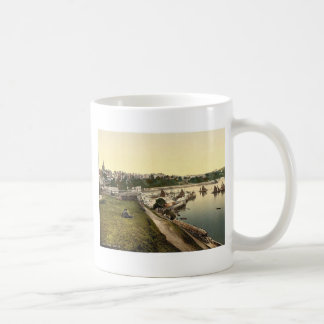 Harbor, Tenby, Wales rare Photochrom Coffee Mug