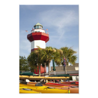 Harbor Town Hilton Head Wall Print