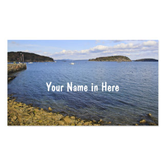 Harbor View Double-Sided Standard Business Cards (Pack Of 100)