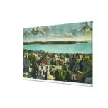 Harborview de la colina de la reina Anne Impresiones En Lona Estiradas