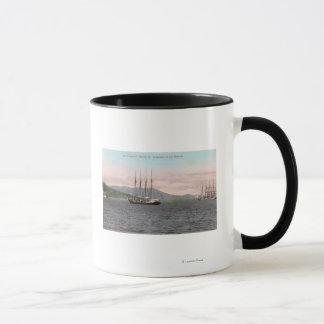 Harborview of Bay and Mt. Tamalpais Mug
